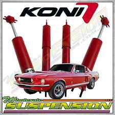 FORD MUSTANG 64 65 66 67 68 69 70 KONI ADJUSTABLE FRONT REAR SHOCKS ABSORBERS