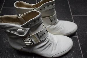Damen  Stiefeletten Stiefel Boots Halbhohe Damenschuhe Größe 37