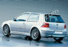 Volkswagen Golf MK4 - Rear bumper spoiler 25th Anniversary (exhaust cut out)