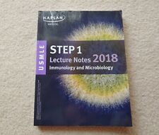 Kaplan USMLE Step 1 Lecture Notes 2018 IMMUNOLOGY & MICROBIOLOGY Book