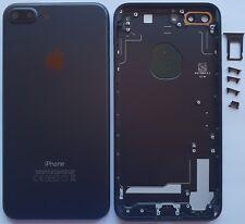 iPhone 7 Plus Akkudeckel Backcover  Rückseite aus Alu  Schwarz
