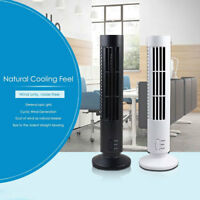 Mini Useful USB Cooling Air Conditioner Purifier Tower Bladeless Desk Fan RoomUK