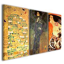 Quadri moderni Gustav Klimt XI riproduzioni stampe su tela canvas ® quality