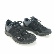 Adidas Mens Terrex AX2 Traxion Sz 8.5 Black Athletic Trail Running Sneaker Shoes