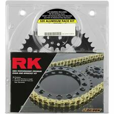 RK Natural Yamaha 520XSO Quick Acceleration Chain with Steel Sprocket- 4067-039P