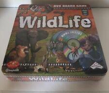 WILDLIFE DVD Board Game Safari Animals Collectible TIN By Imagination