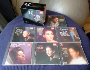7xCD BOX Maria Callas Ses Récitals 1954-1969 EMI Recitals Verdi Puccini Paris