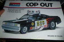 """MONOGRAM 7504 """"COP-OUT"""" Plymouth DUSTER 1/24 1994 Model Car Mountain KIT FS"""