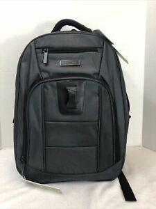 New Perry Ellis Business laptop Tablet Backpack P328, charcoal Organizer!