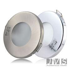 AQUA SLIM 230V  7W COB LED SMD Einbaustrahler Spots Feuchtraum Badezimmer Flur