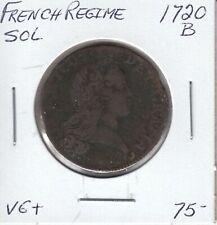 FRENCH REGIME SOL 1720B - VF