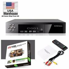 HD USA ATSC TV BOX DIGITAL CONVERTOR HDMI HDTV RECEIVER ANTENNA SIGNAL + Remote