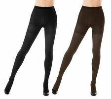 Spanx Reversible Tight-End Tights BLACK/BITTERSWEET BROWN NWT SIZE C QVC