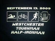 "WESTCHESTER TOUGHMAN HALF-MARATHON 2009 ""TEAM TRI-MUSKETEERS T-Shirt Youth XL"