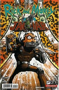 Rick and Morty Jaguar 1 Oni Press Exclusive New Bagged and Boarded