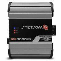 Stetsom EX3000 EQ - 3600W RMS 1 ohms Full Range Amplifier EQ Compact Design 3K