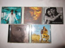 "Kenny Lattimer CD lot of 5 ""Timeless, Soul of a Man, Things That Lovers Do"""