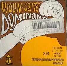 Thomastik dominant violín g plata/Perlon cuerda medios 3/4 - lagerabverkauf