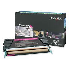 Lexmark C736H1MG Cartouche de toner pour C736 X736 X738 Magenta
