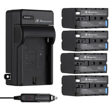 8800mAh NP-F970 NP-F960 Battery + Charger for Sony NP-F770 F570 NP-F550 NP-F950