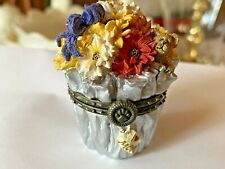 "Boyd's Trinket box: Floras Bloomin' Bunch Daisy McNibble-""I Love You Mom� tag"