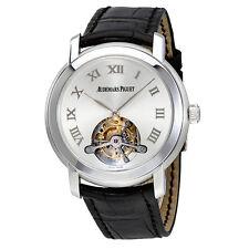 Audemars Piguet Jules Audemars Tourbillion Silver Dial Mens Watch