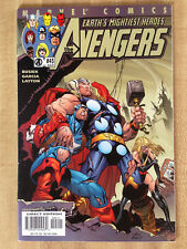 THE AVENGERS #45 460 NM 2001 Yu-Gi-Oh Cards Video Game Ad Thor Iron Man L@@K WOW