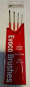 Humbrol Evoco General Purpose Brushes