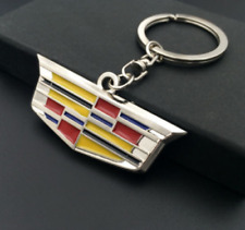 High quality metal car logo Single Side key chain FOR Cadillac FREE SHIPPING