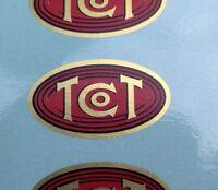 TCT TTC TTCo Morning Glory phonograph horn Tea Tray Co 1st Quality DECAL Edison