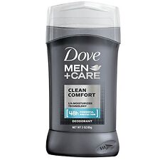 3 Pack Dove Men Care Clean Comfort Stick Deodorant 48hr Protection 3oz Each