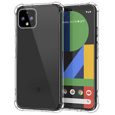 Google Pixel 4 (2019) Case Soft Crystal Clear Silicone Shockproof Cover Clear