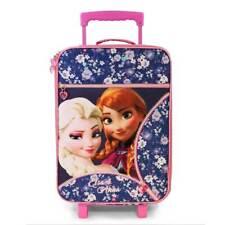 Trolley bagaglio a mano bimba Disney Frozen 50x33x17cm tessuto impermeabile