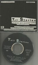 Journey & tyketto Singer TALL STORIES Chain of Love PROMO Radio DJ CD single