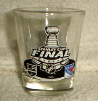 2014 STANLEY CUP FINALS shot GLASS LA LOS ANGELES KINGS NY RANGERS