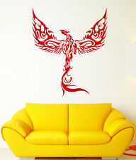 Vinyl Wall Decal Phoenix Fantasy Bird Fantastic Beast Flame Stickers (2175ig)