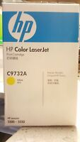 Genuine HP C9732A or 645A Yellow Toner For Colour Laserjet 5500, 5550 Brand New!