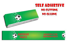 14 X PERSONALISED SELF ADHESIVE KITKAT FOOTBALL PARTY LABEL WRAPPER CHOCOLATE