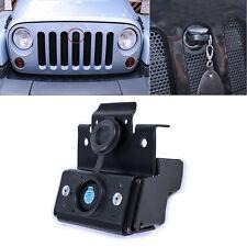 Hood Lock Kit Assembly Anti-theft for 2011-2018 Jeep Wrangler Jk Rubicon Sahara
