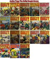 Justice Traps The Guilty Digital Comics on DVD Collection - Crime - CBR CBZ