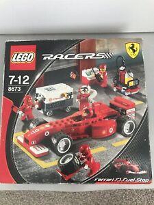 Lego Ferrari F1 Fuel Stop Set # 8673 | Boxed with Instructions