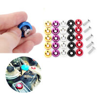 Car Styling  M6 License Plate Bolts  Fender Washers Kits Auto Accessories