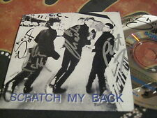 THE SHARP Scratch My Back 1993 Oz CD Single ~ FULLY SIGNED!!! (& Sticker)
