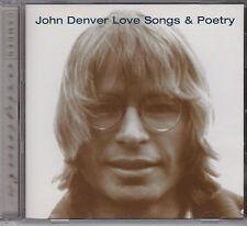 JOHN DENVER - LOVE SONGS & POETRY - CD