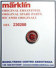 MARKLIN 23026 230260  RUOTA CON CERCHIATURA - TREIBRAD MIT HAFTREIFEN