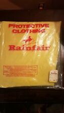 Vtg Rainfair Rain Gear_Bib Overalls_XL_Waterproof Rain Coat
