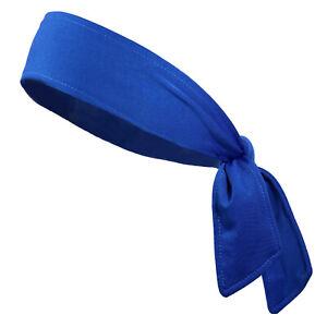 Head Tie Hair Back Band Sports Headband Men Women Ninja Bandana Wrap Sweatband