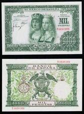 1000 Pesetas 1957 Reyes Católicos. Serie T 3038309. NO CIRCULADO MÍNIMO DOBLEZ.