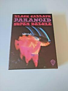 Black Sabbath Paranoid Super Deluxe 4 CD box set MINT  LE