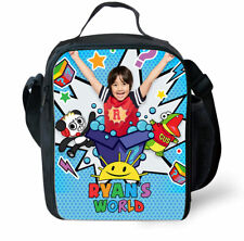 NEW Ryan's World Ryan Toy Review Insulated Lunch Box Bag